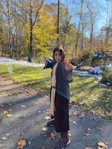 Austin Laban as Obi Wan Kenobi