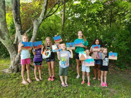 Cupcakes & Canvas: Session 1