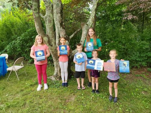 Cupcakes and Canvas: Dolphin Paintings