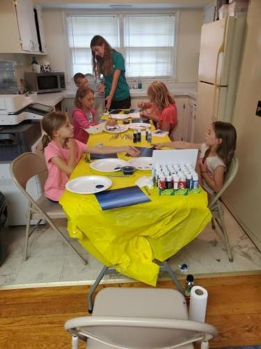 Cupcakes and Canvas: Session 2